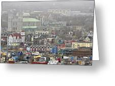 Saint John's. Newfoundland. Canada. Greeting Card