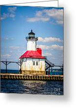 Saint Joseph Lighthouse Picture Greeting Card