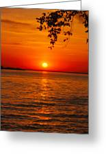 Saint Lawrence River Sunset IIi Greeting Card