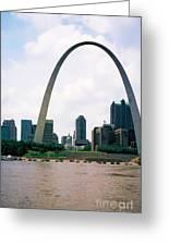 Saint Louis Arch Greeting Card