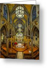 Saint Malachy The Actors Chapel  Greeting Card