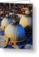 Saint Mark's Domes Greeting Card