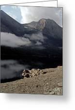 Saint Mary Lake East Glacier Greeting Card