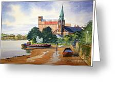 Saint Mary's Church Battersea London Greeting Card