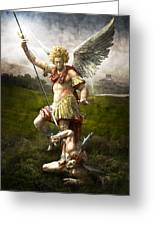 Saint Michael's Triumpf Greeting Card