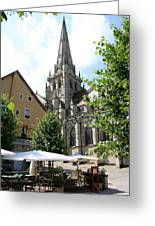Saint Nazaire Cathedral Autun Greeting Card