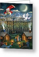 Saint Nicholas Praying For The Recovery Of His Tradition Greeting Card