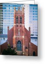 Saint Patrick's Church San Francisco Greeting Card