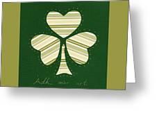 Saint Patricks Day Collage Number 14 Greeting Card