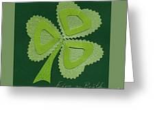 Saint Patricks Day Collage Number 16 Greeting Card
