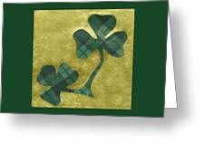 Saint Patricks Day Collage Number 22 Greeting Card
