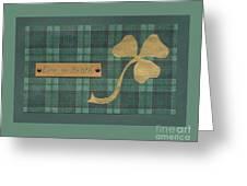Saint Patricks Day Collage Number 4 Greeting Card