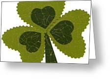 Saint Patricks Day Collage Number 8 Greeting Card