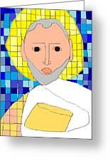 Saint Paul Greeting Card by Anita Dale Livaditis