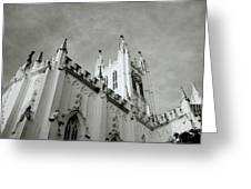 Saint Paul Cathedral In Cathedral Greeting Card