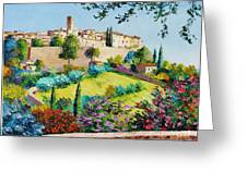 Saint Paul De Vence Greeting Card