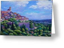 Saint Paul De Vence Greeting Card