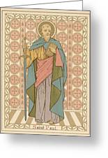 Saint Paul Greeting Card