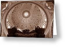 Saint Peter Dome Greeting Card