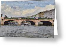 Saint Petersburg Bridges 5 Greeting Card