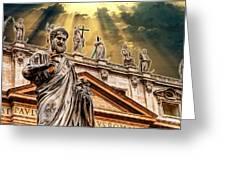 Saint Pietro Greeting Card