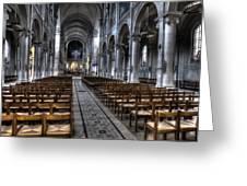 Saint Severin Greeting Card
