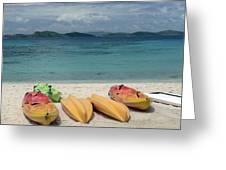 Saint Thomas Beaches Greeting Card