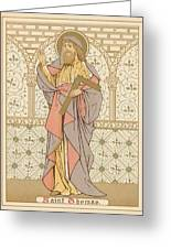 Saint Thomas Greeting Card