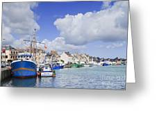 Saint Vaast La Hougue Normandy France Greeting Card