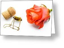 Saint Valentine Rose Greeting Card