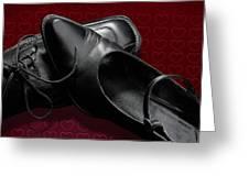 Saint Valentine Shoes Greeting Card