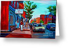 Saint Viateur Bagel Shop Greeting Card