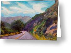 Saint Vrain Canyon Greeting Card