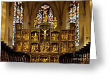 Sainte Croix - Kaysersberg France Greeting Card