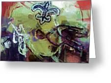 Saints Art Greeting Card