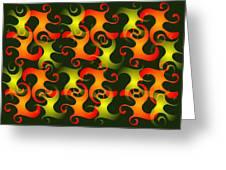 Salamanders Dream Greeting Card