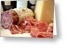 Sliced Deli Meat Greeting Card