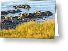 Salem Coastline Greeting Card
