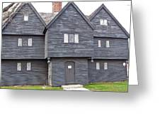Salem Witch House Greeting Card