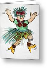 Sales Fairy Dancer 2 Greeting Card
