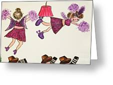 Sales Fairy Dancer 5 Greeting Card