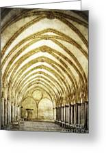 Salisbury Cathedral Cloisters 2 Greeting Card