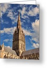 Salisbury Cathedral Greeting Card