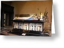 Salle De Gardes - Palace Dijon Greeting Card