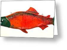Salmon 1 Greeting Card