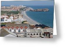 Salobrena Coastline Greeting Card
