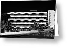 Salou Empty Apartment Properties On The Costa Dorada Catalonia Spain Greeting Card