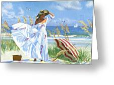 Salt Aire Blues Greeting Card