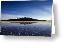 Salt Cloud Reflection Greeting Card