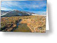 Salt Creek Death Alley National Park Greeting Card